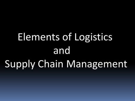 Langham Logistics