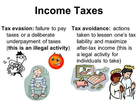 to what extent does tax evasion Addressing tax evasion and tax avoidance in developing countries this version: extent of tax evasion and avoidance in the regions of the world and the different.