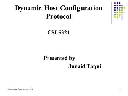 dynamic host configuration protocol dhcp pdf