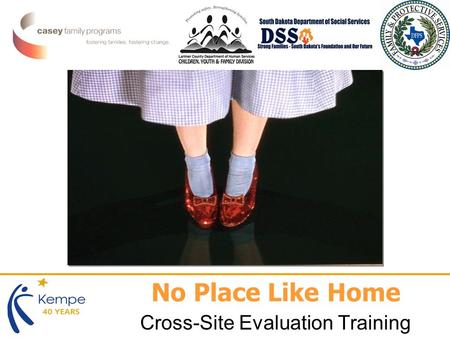 No Place Like Home Cross-Site Evaluation Training.