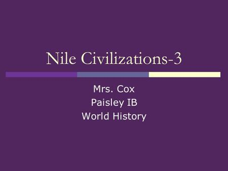 Write about egyptian civilization the gift