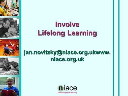 Involve Lifelong Learning niace.org.uk.