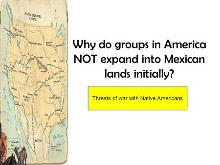 What was the effect of westward expansion?