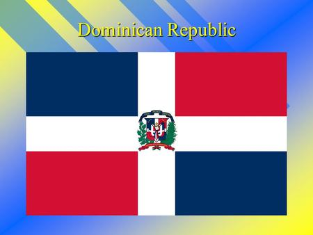 Dominican Republic. The map of the Dominican Republican.
