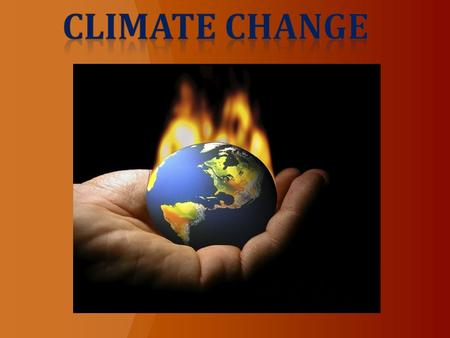 What is climate change? Climate change is the change in long-term weather patterns in certain regions. These changes can affect the entire Earth.
