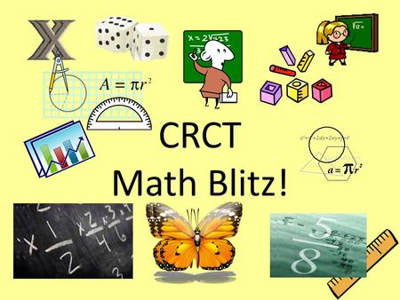 CRCT Math Blitz!. ? Which figure is NOT a polygon?