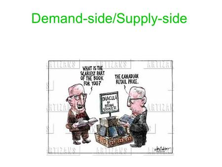 Demand-side/Supply-side Economics!. Keynesian Economics Demand-Side Argues that government spending can be used to stabilize the economy Challenged the.