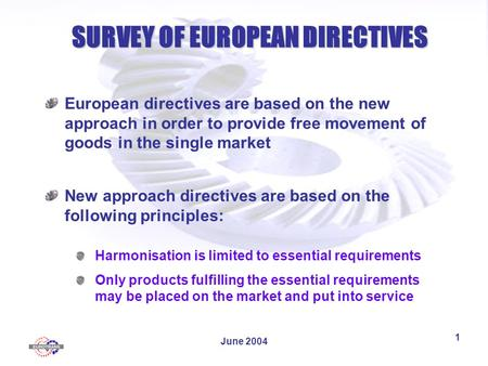 free movement of goods in eu The principle of free movement of goods is one of the cornerstones of the european union's internal market this principle implies that national barriers to the free movement of goods within the eu be removed.