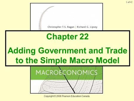 chapter 22 adding government and trade to the simple macro model ppt video online download. Black Bedroom Furniture Sets. Home Design Ideas