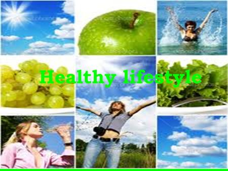 Healthy lifestyle. Introduction You can give yourself the best chance of living a fitter and a healthier life by eating a good variety of balanced food,