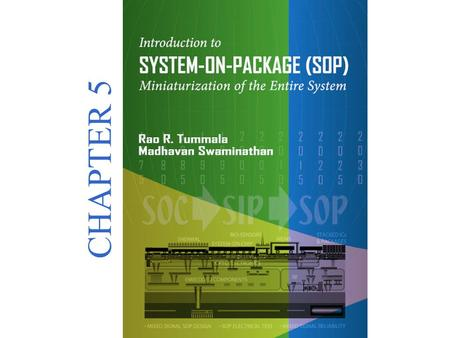 Introduction to SYSTEM-ON-PACKAGE(SOP) Miniaturization of the Entire System © 2008 CHAPTER 5.