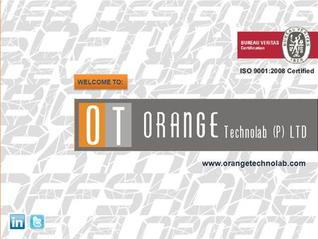 WELCOME TO: www.orangetechnolab.com. ABOUT US ORANGE TECHNOLAB PRIVATE LIMITED, formerly known as Orange Web Technologies, an ISO 9001:2008 Certified.