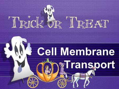 Cell Membrane Transport. Cell membrane transport There are 2 types of cell membrane transport: Passive Transport Substance move from High concentration.