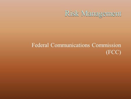 Federal Communications Commission (FCC). The FCC is a United States government agency and was established by the Communications Act of 1934. The FCC is.