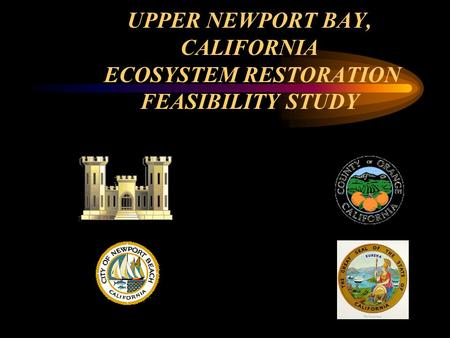 UPPER NEWPORT BAY, CALIFORNIA ECOSYSTEM RESTORATION FEASIBILITY STUDY.