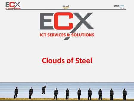 Clouds of Steel.  Cloud application for offer requests for steel products  Customers can enter the offer request and see what is in stock.  Running.