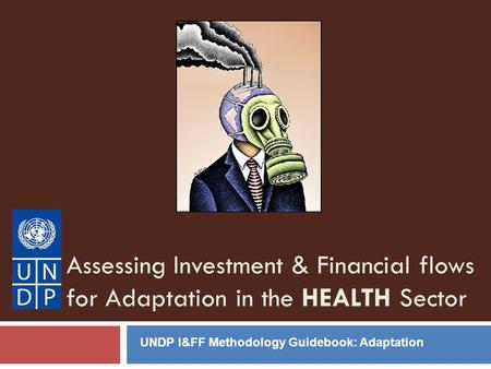 Assessing Investment & Financial flows for Adaptation in the HEALTH Sector UNDP I&FF Methodology Guidebook: Adaptation.