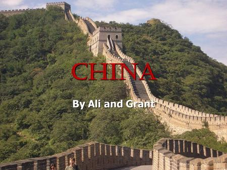 China By Ali and Grant. Flight Depart from Denver on September 21 st. Depart from Denver on September 21 st. Arrive in Beijing 22 nd. Arrive in Beijing.