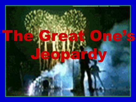 The Great One's Jeopardy Learning Objectives Describe solids, liquids, & gases in terms of their shape, volume, kinetic energy of their particles, &
