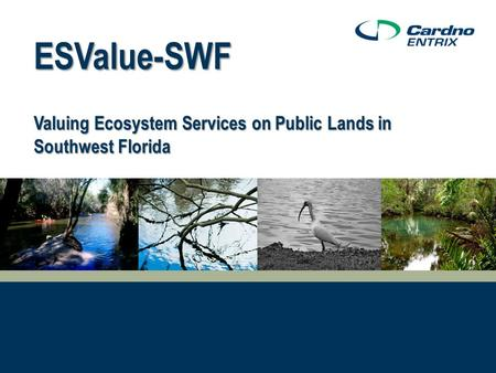 ESValue-SWF Valuing Ecosystem Services on Public Lands in Southwest Florida.