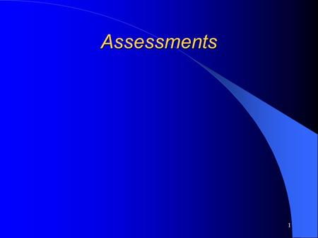 1 Assessments. 2 NCTM Assessment Principle Assessment should support the learning of important mathematics and furnish useful information to both teachers.