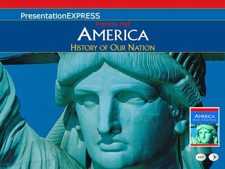 PresentationExpress. 2 Click a subsection to advance to that particular section. Advance through the slide show using your mouse or the space bar. Challenges.