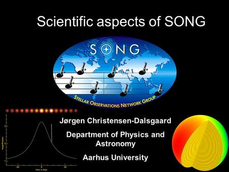 Scientific aspects of SONG Jørgen Christensen-Dalsgaard Department of Physics and Astronomy Aarhus University.