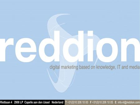 Digital marketing based on knowledge, IT and media.