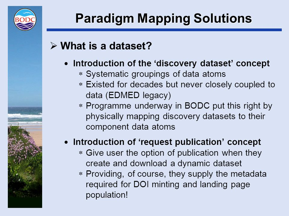 Paradigm Mapping Solutions  How can replicated serving be guaranteed.