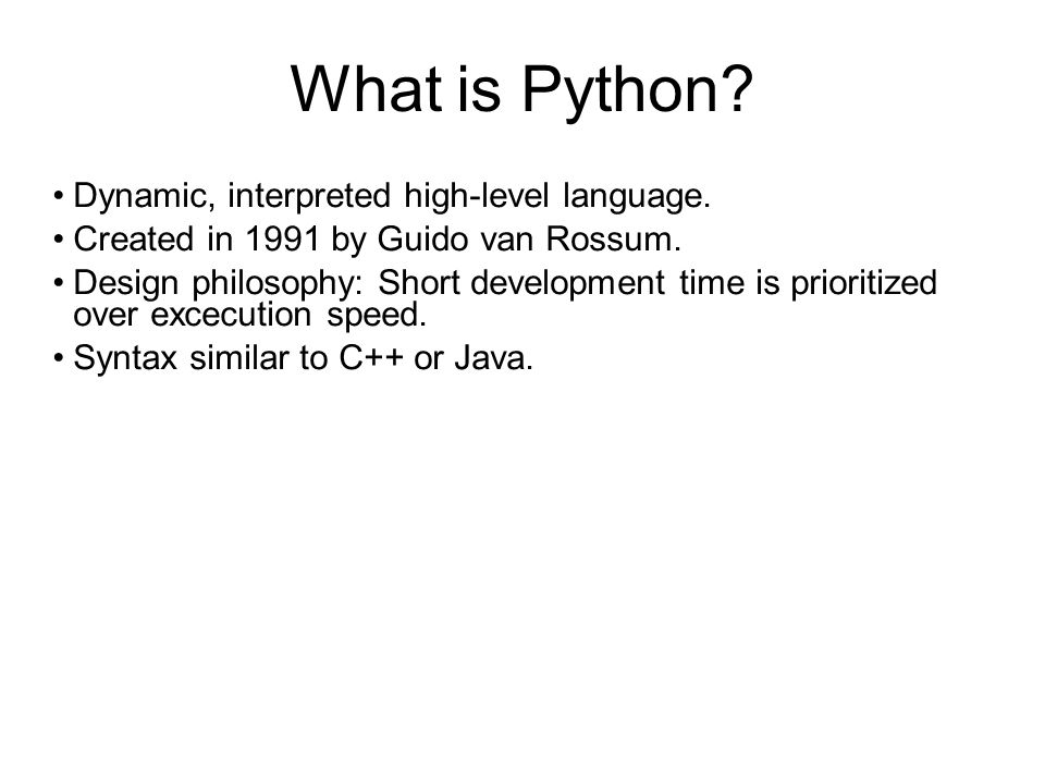 Facts about Python Portable, available for all common platforms.