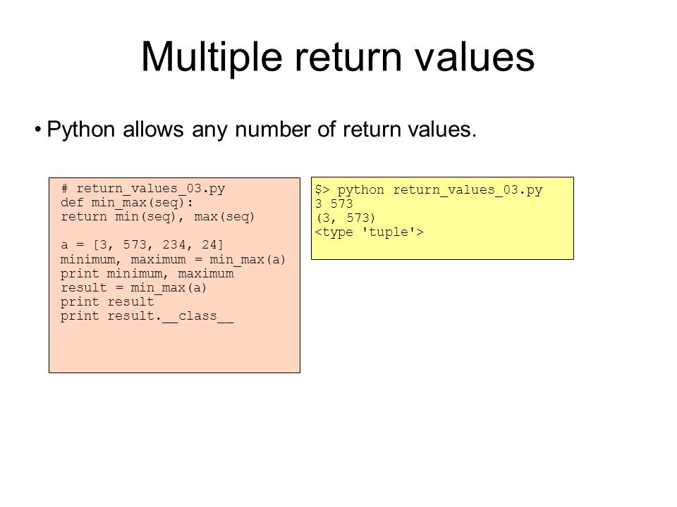 Modules When writing larger programs, it is not practical to keep all code in the same file.
