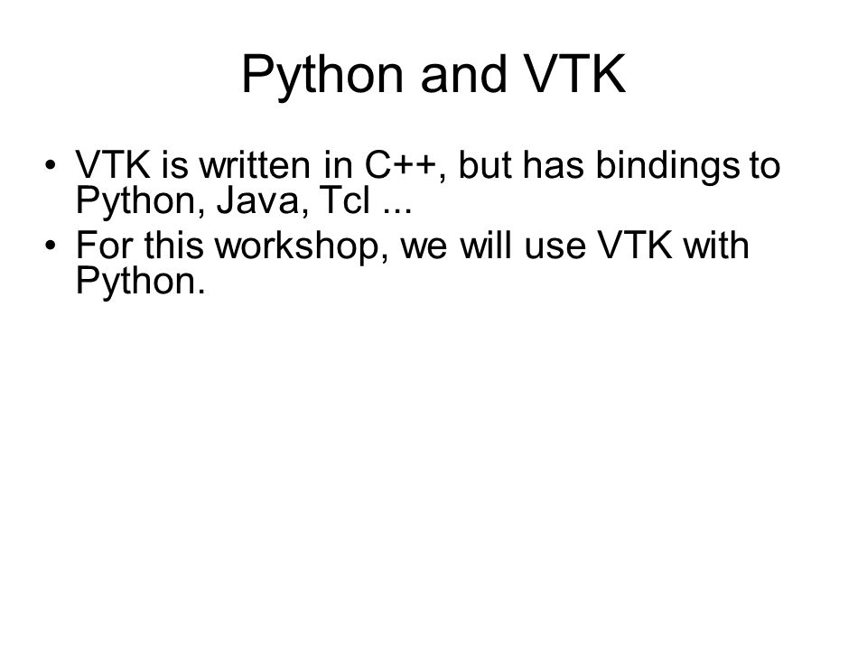 The Python prompt Can be used to execute individual Python commands interactively.