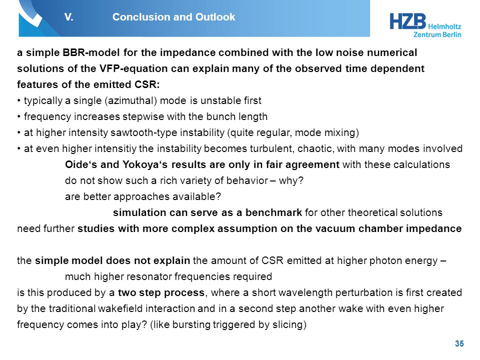 36 Acknowledgement K.Holldack – detector and THz-beamline J.