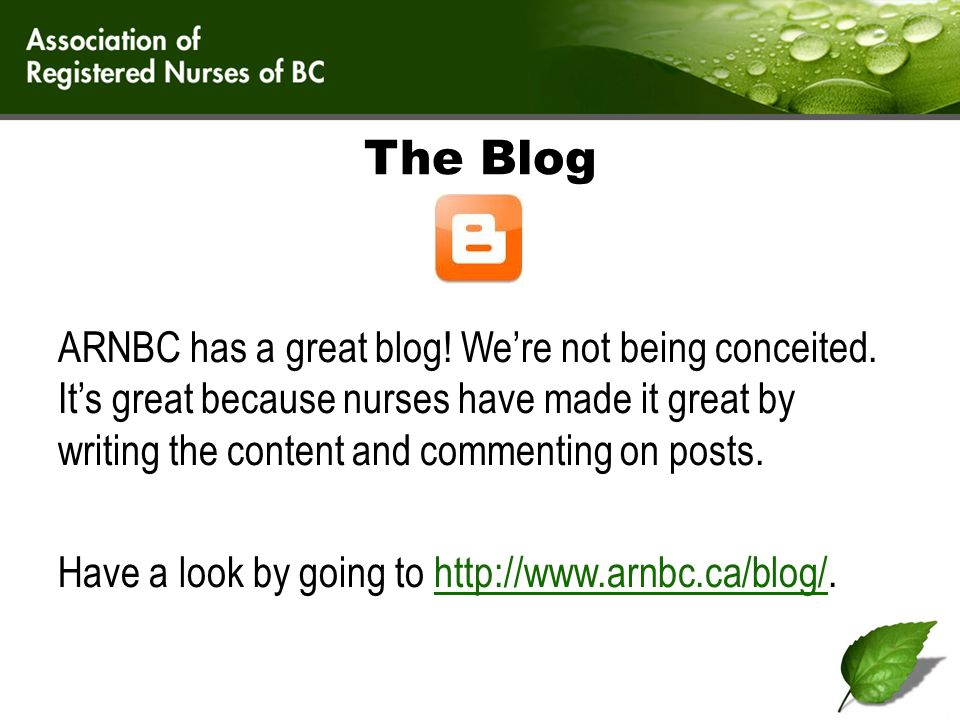 More Blog.If you see a post you want to comment on, do so.