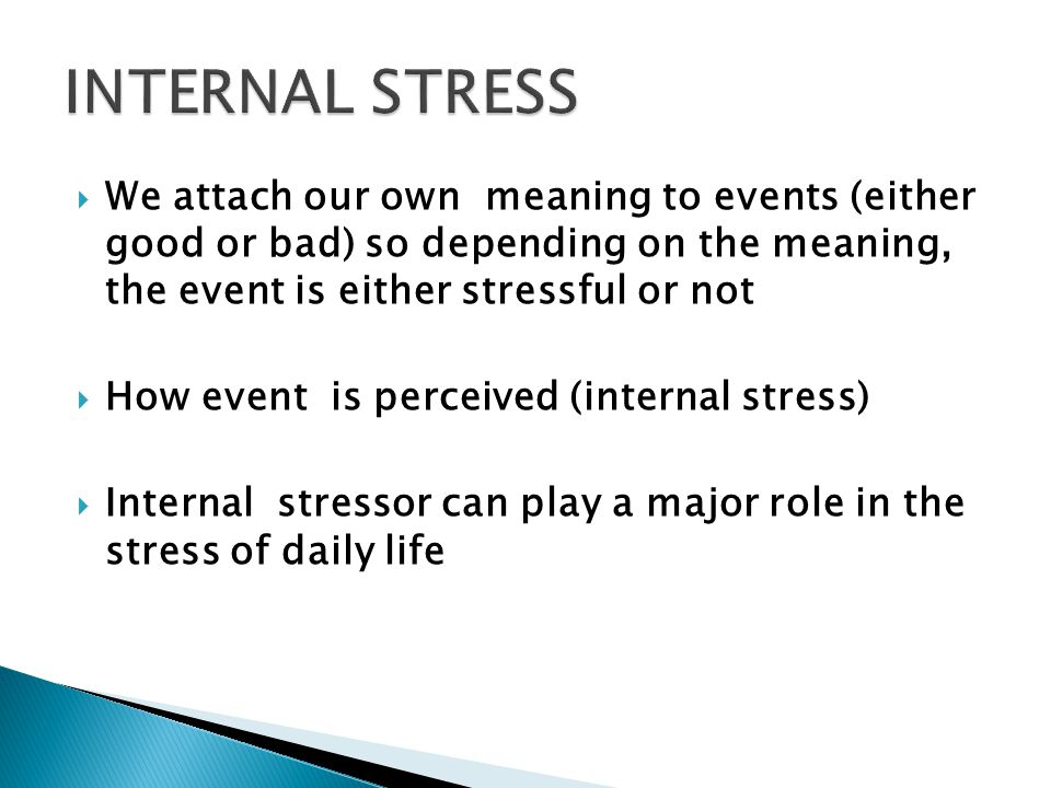 DO YOU EVER STRESS ABOUT STRESS?.