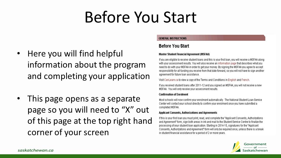 Create/Update/Delete Application You can now Create Full-Time Student Loan Application by selecting the appropriate year