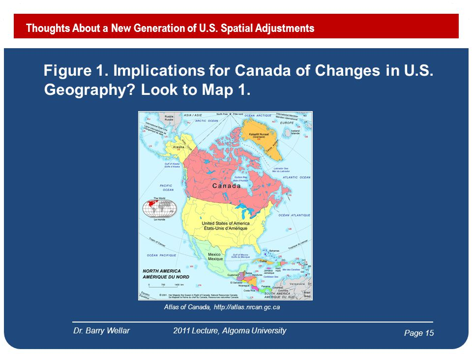 Page 16 Figure 2.Implications for Canada of Changes in U.S.