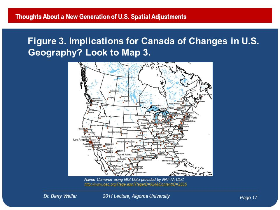 Page 18 Figure 4.Implications for Canada of Changes in U.S.