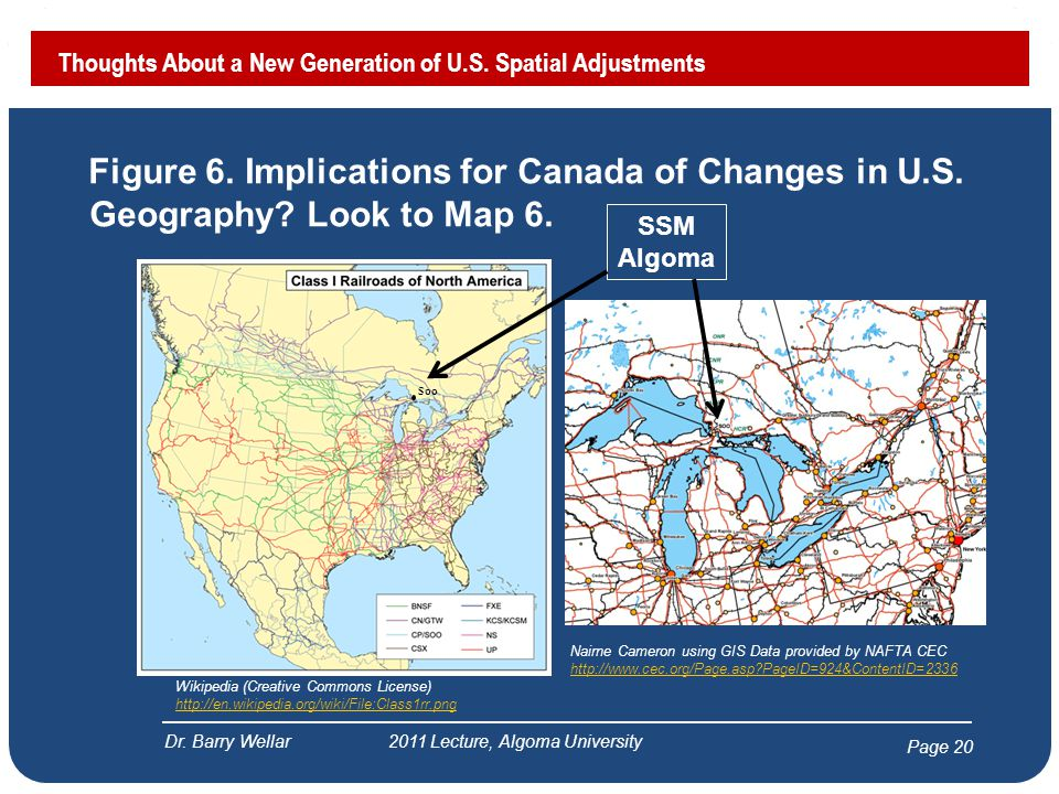 Page 21 Thoughts About a New Generation of U.S.Spatial Adjustments Dr.