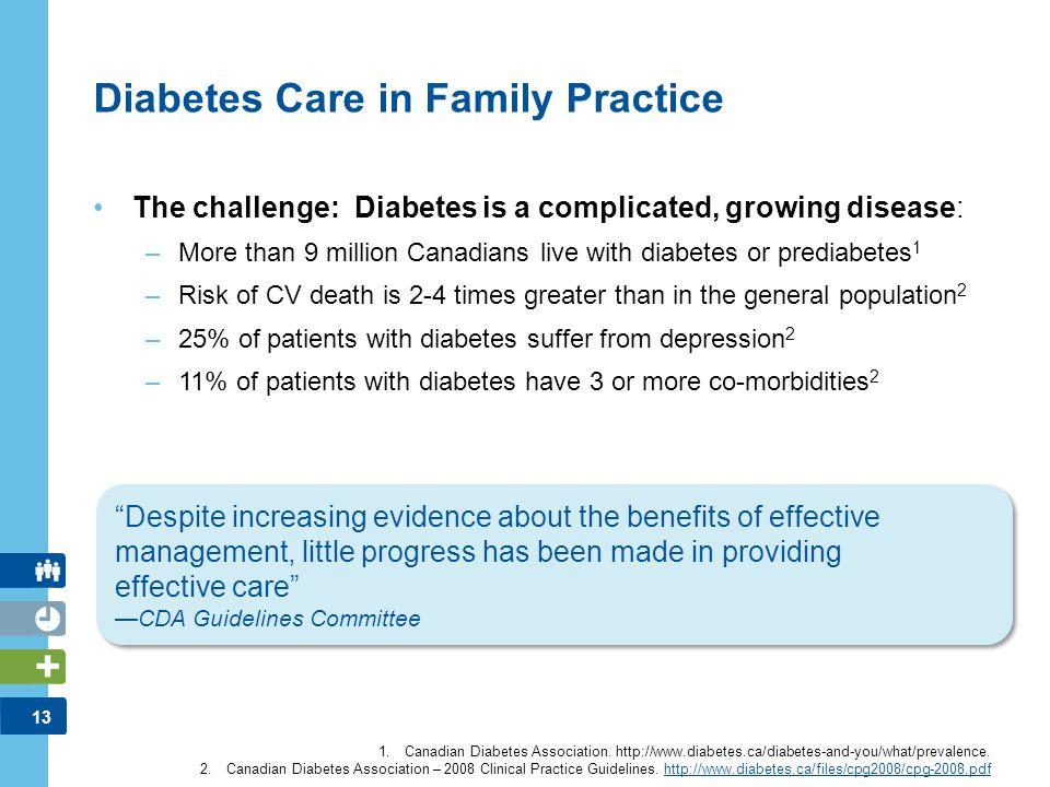 14 Primary Care Challenge Average practice has between 100-200 patients with diabetes 1 Patients with diabetes visit their family physician on average 8 times per year 2 Thus, the burden on the clinic is significant (this does not even include the burden of those with cardiometabolic risk) 1 Most recent A1C test results (n = 2,337) DICE: Diabetes in Canada Evaluation study 2 1.Steering Group Communications.