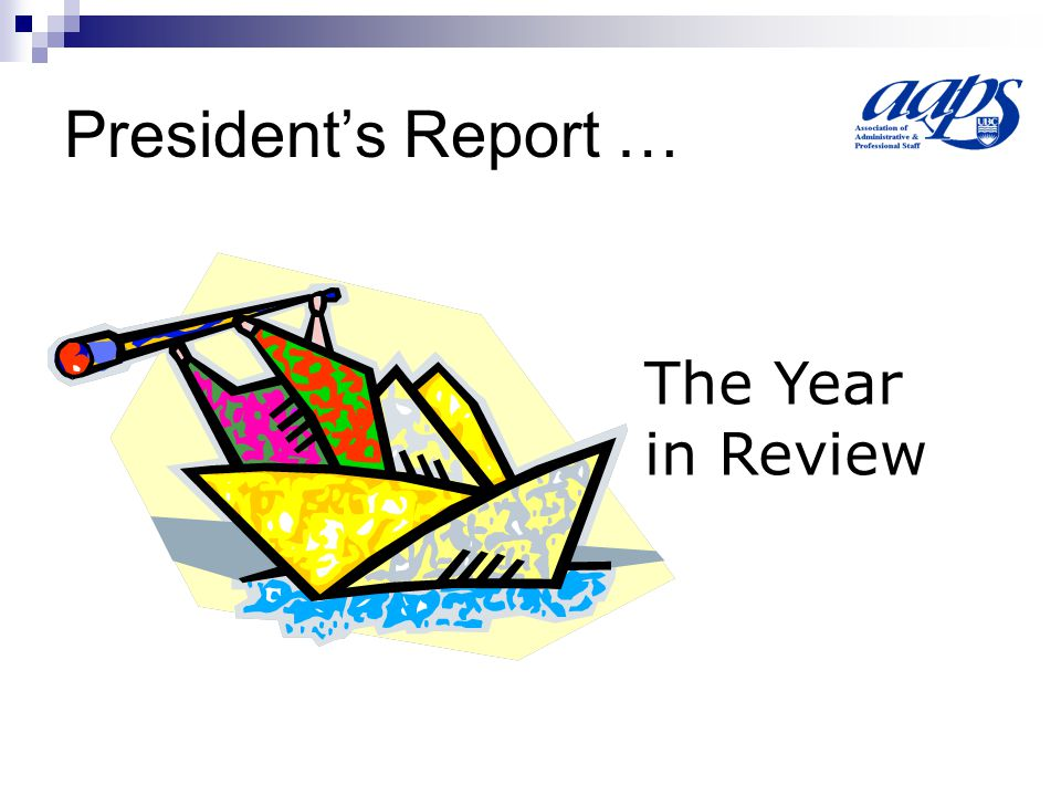 Executive Director's Report a.Where are we? b.Impending Challenges c.Where are we going?