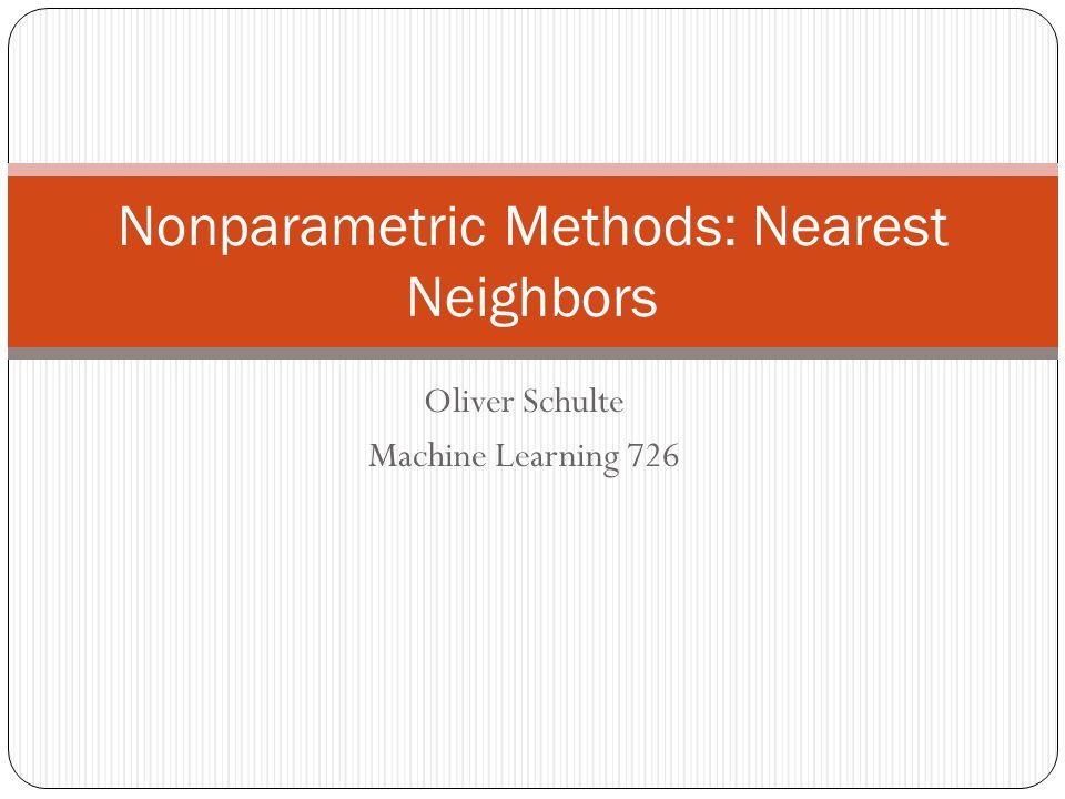2/57 Instance-based Methods Model-based methods: 1.
