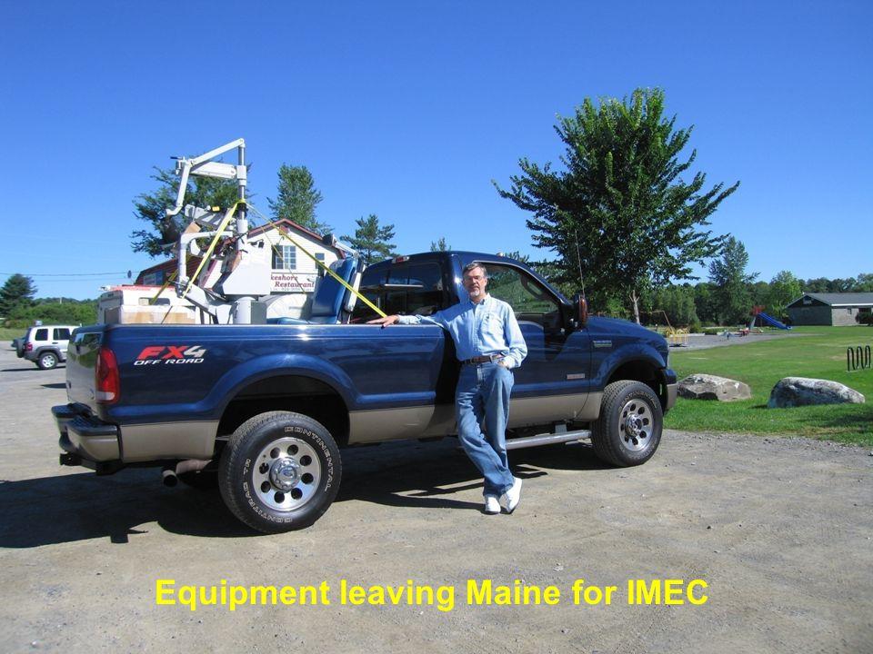 18 Equipment arriving at IMEC