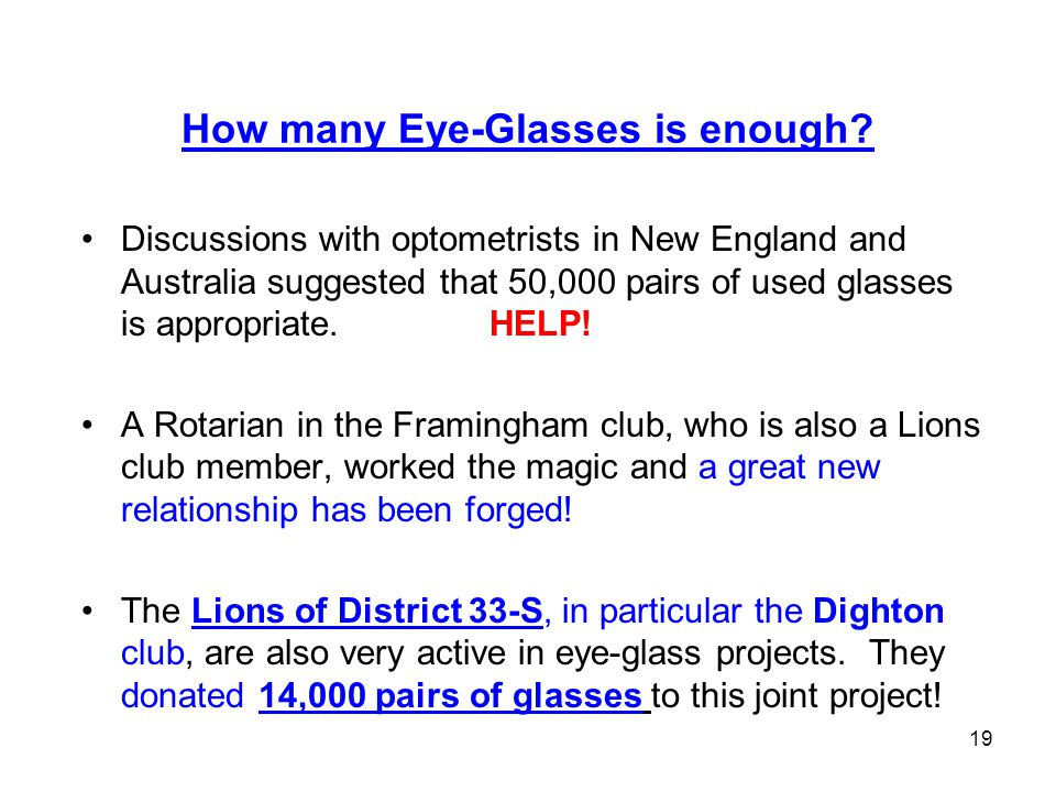 20 14,000 Eye-glasses loaded in the truck