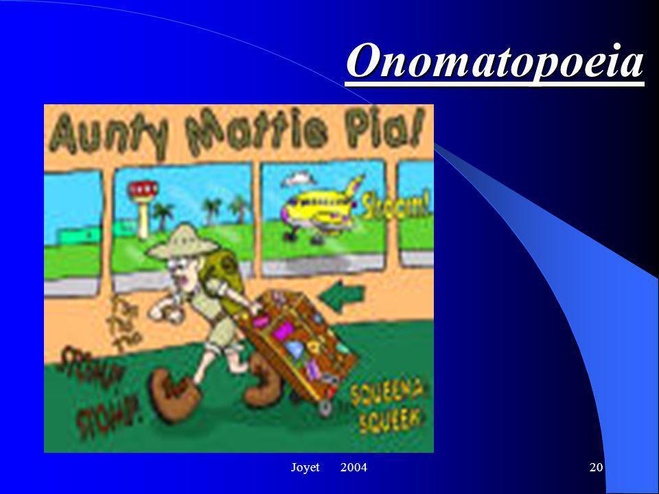 Joyet 200420 Onomatopoeia