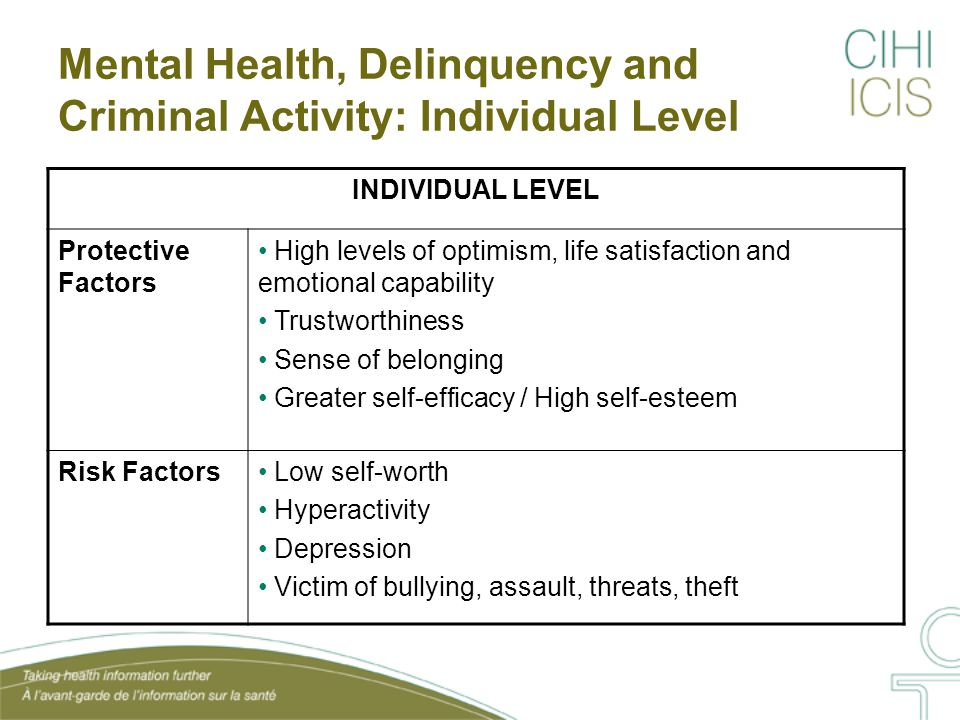 CPHI Analysis: Aggression and Individual-level Protective Factors Source: CPHI Analysis of NLSCY (cycle 6, 2004-2005).