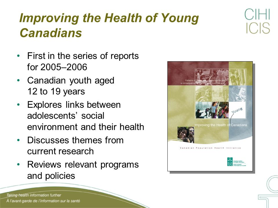 Adolescent Health and Development Themes from the Research: 1.Cluster: Positive & negative behaviours 'cluster' together 2.Engaging youth: Participation in meaningful & structured activities 3.Resilience: Youth's ability to successfully cope in adversity 4.Assets: Positive relationships, opportunities, values and self-perceptions correlated with healthy development