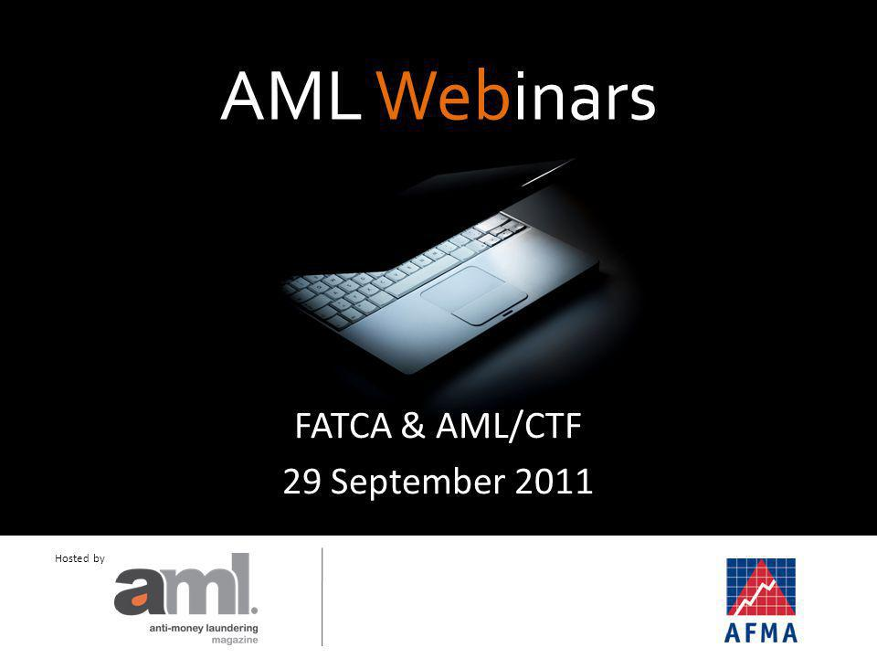 AML Webinars Short, sharp and sweet.