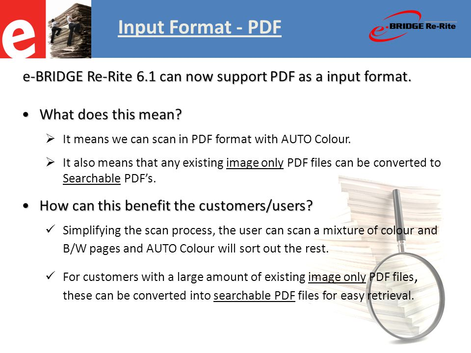 Old Vs New Input Format - PDF Meta-Scan & Structured Folder Output Features & Benefits Examples – Other Verticals Content