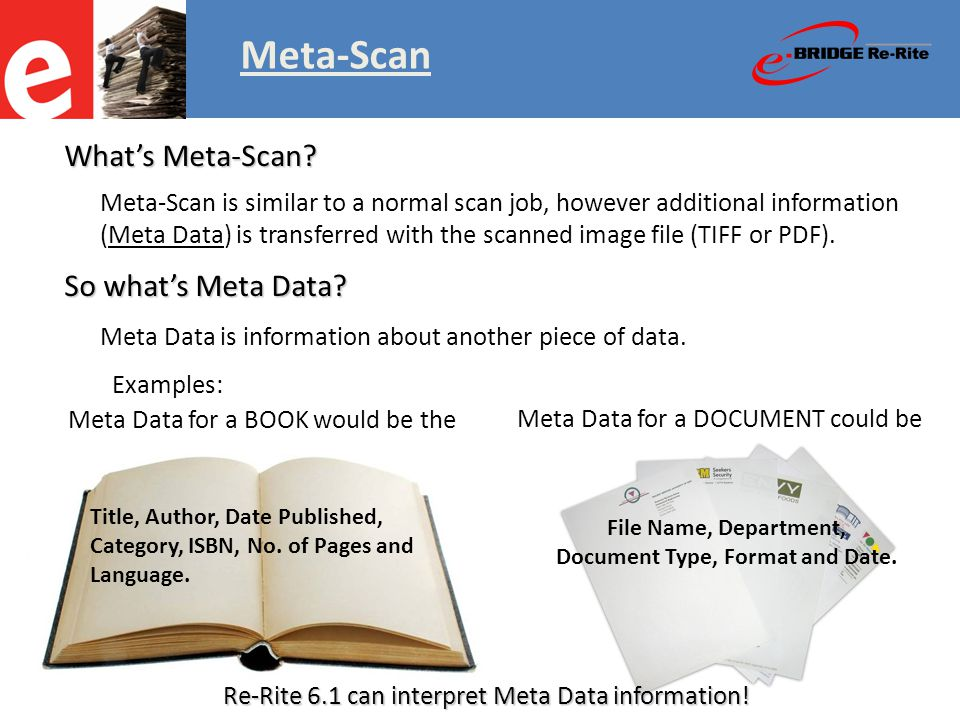 Meta-Scan Meta Data for this BOOK.Title: Author: Date Published: Category: ISBN: No.